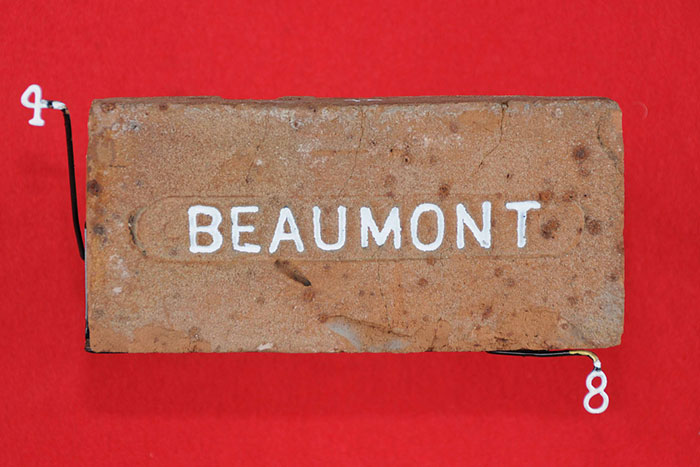 BEAUMONT (OVAL PLATE)