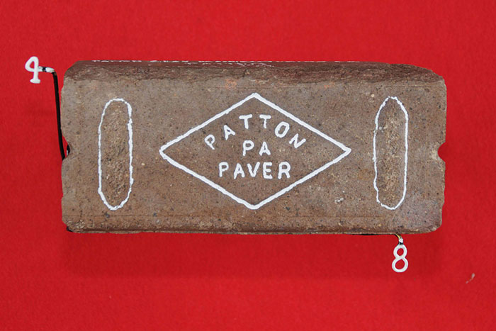 PATTON; PA; PAVER (IN DIAMOND WITH SIDE BUMPS)