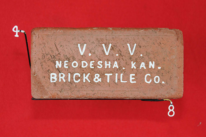 V. V. V.; NEODESHA. KAS.; BRICK & TILE CO.