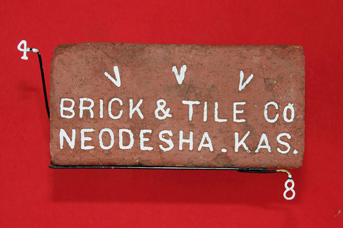 V V V;  BRICK & TILE CO;  NEODESHA. KAS.