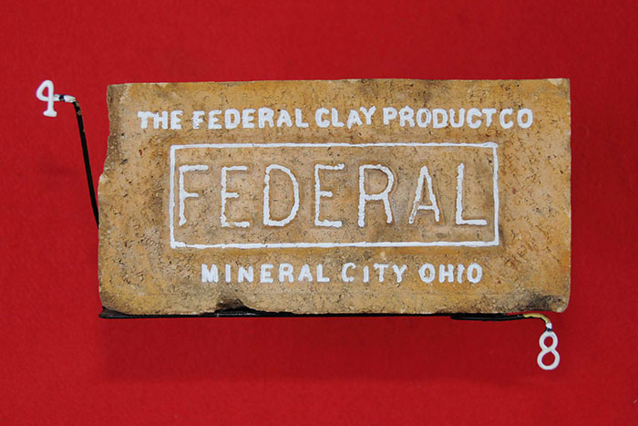 THE FEDERAL CLAY PRODUCT CO; FEDERAL; MINERAL CITY OHIO