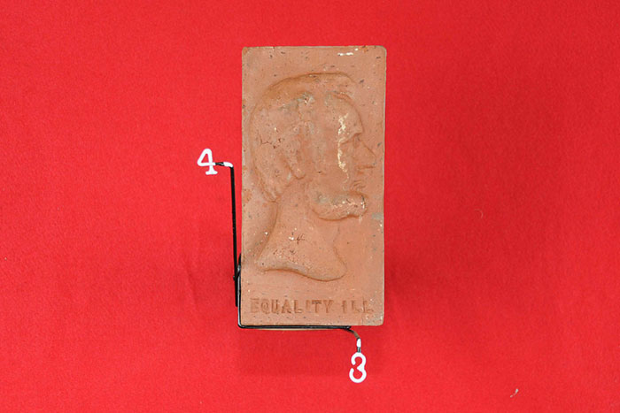 EQUALLITY ILL (ABE LINCOLN  PROFILE) (REPLICA BY BETTY ROLLER)