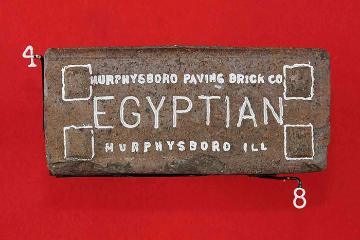 MURPHYSBORO PAVING BRICK CO; EGYPTIAN; MURPHYSBURO ILL