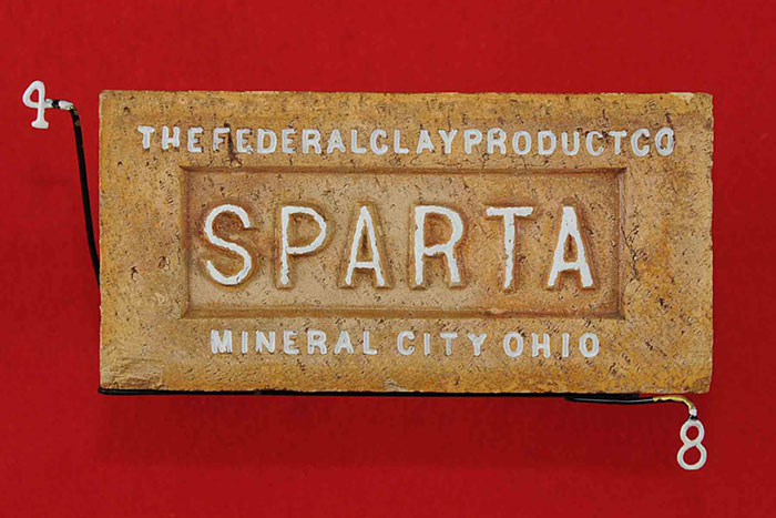 THEFEDERALCLAYPRODUCTCO; SPARTA;MINERAL CITY OHIO