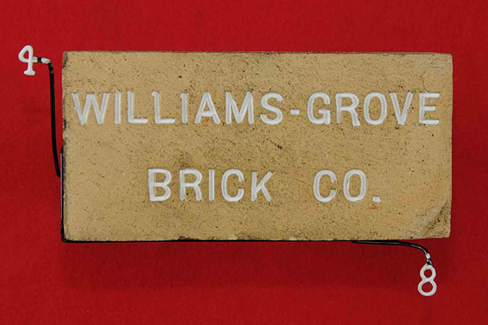 WILLIAMS-GROVE; BRICK CO.