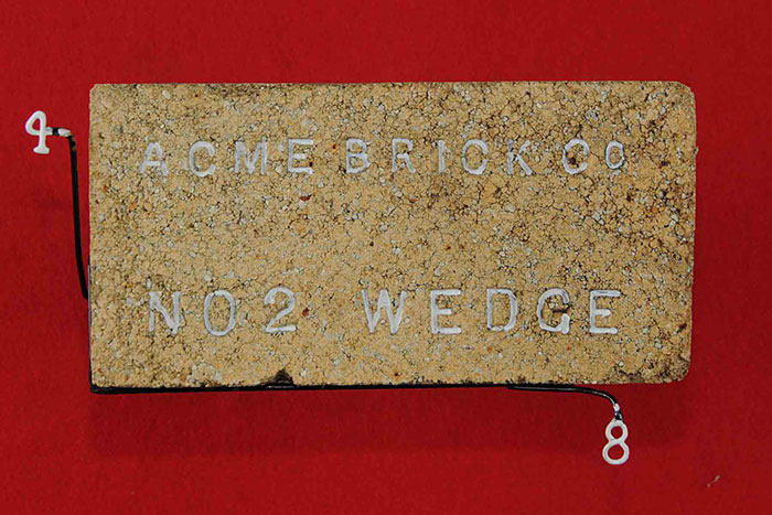 ACME BRICK Co; NO 2 WEDGE