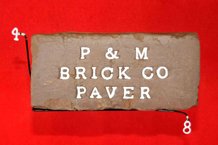 P & M;BRICK CO;PAVER