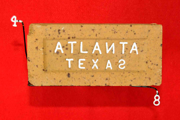 ATLANTA TEXAS (BACKWARDS N & S)