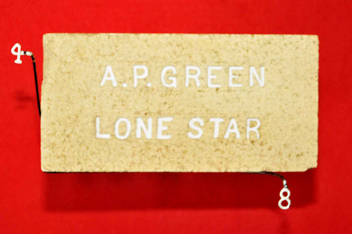 A. P. GREEN;LONE STAR