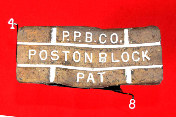 P.P.B.CO.;POSTON BLOCK;PAT