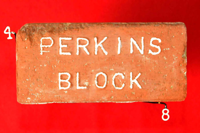 PERKINS;BLOCK