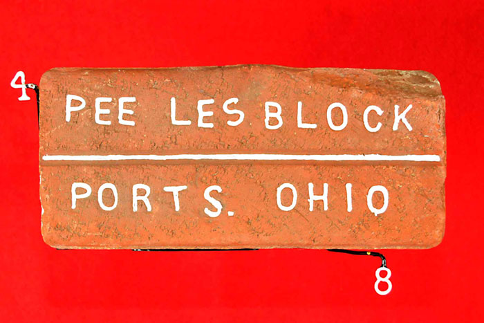 PEE LES BLOCK;PORTS. OHIO