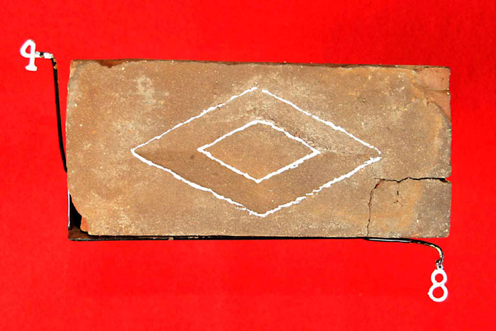 (LARGE DIAMOND)(FASCIA BRICK)